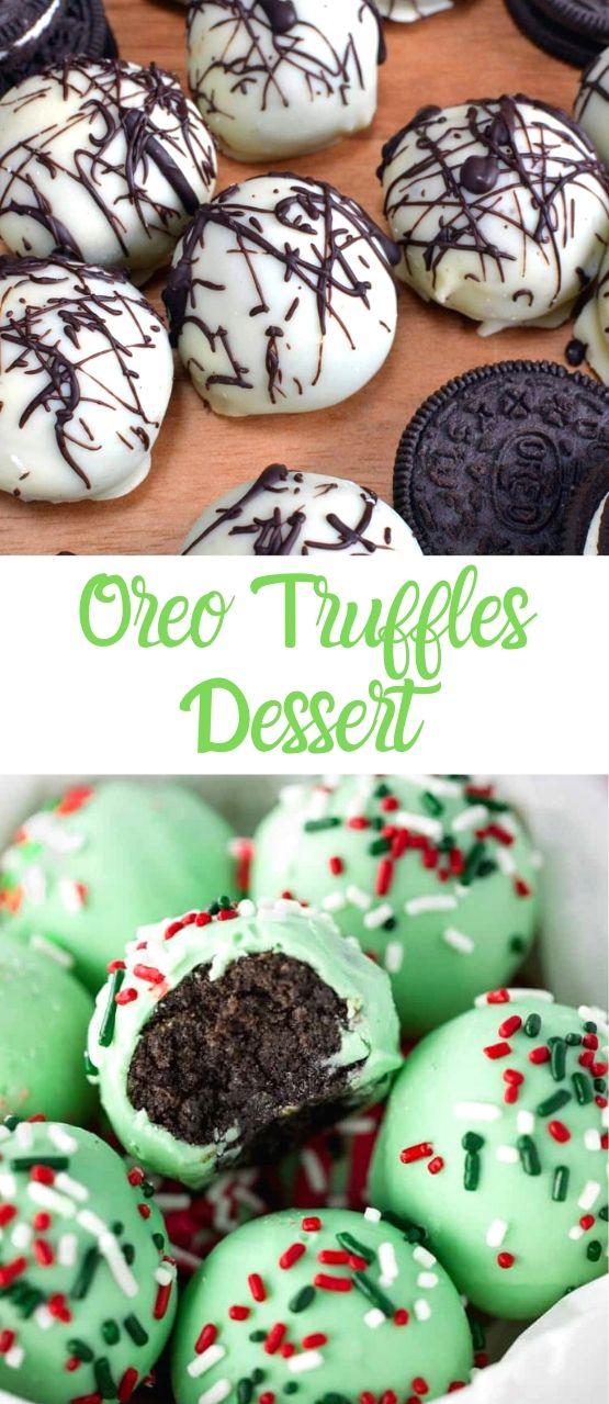 Oreo Truffles Dessert