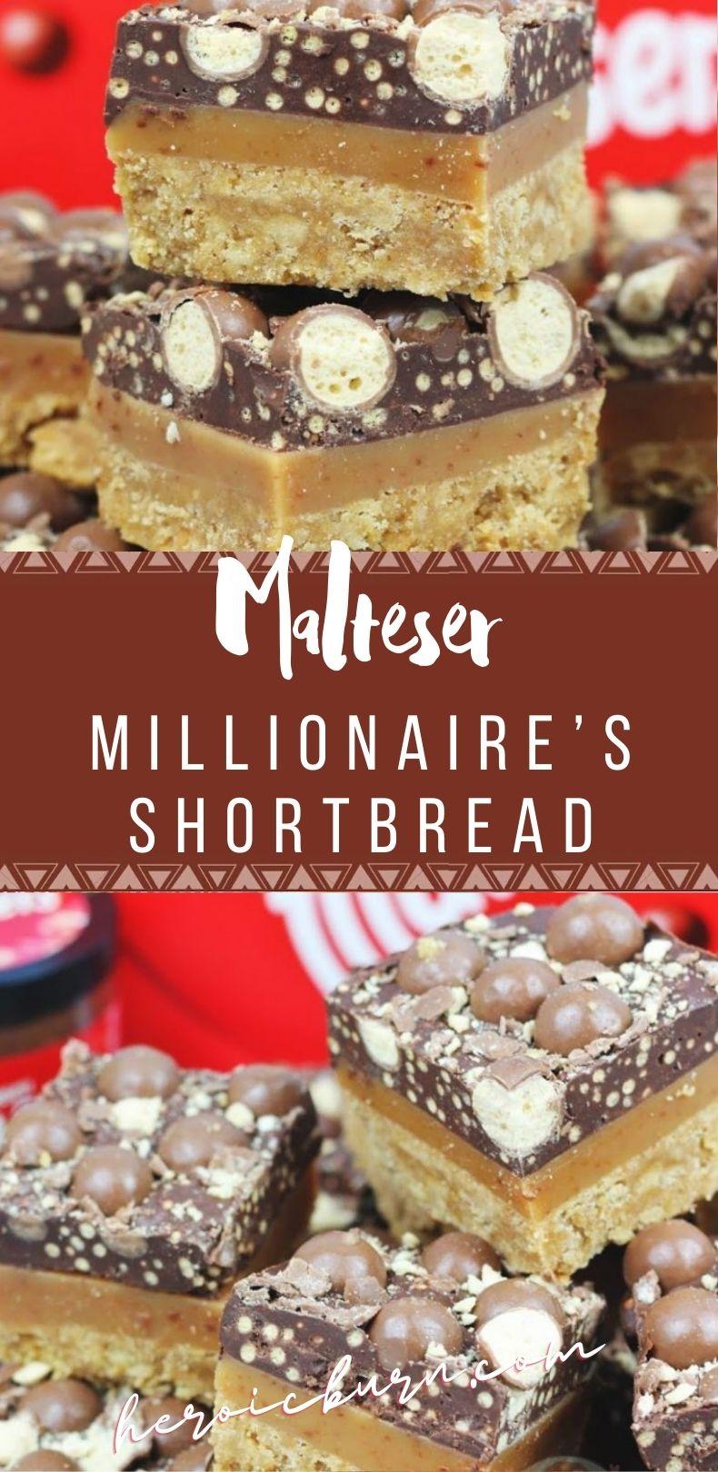 Malteser Millionaire's Shortbread